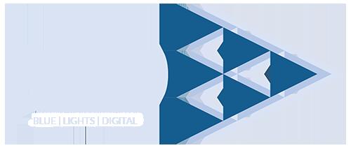 BLD Logo Blue | Lights | Digital pale blue